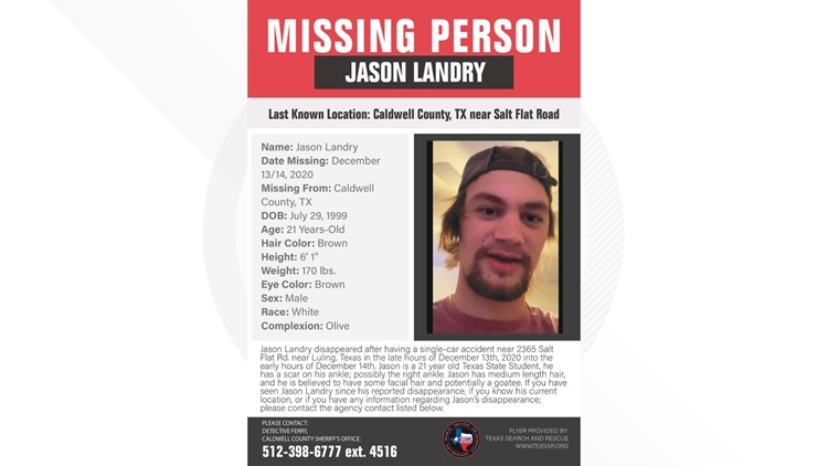 Texas Search and Rescue launching new search mission in hunt for Jason Landry