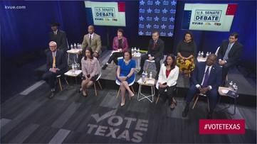 U.S. Senate Democratic primary debate Tuesday