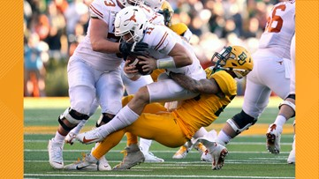 HIGHLIGHTS: Texas Longhorns eliminated from Big 12 Championship contention with 24-10 loss to Baylor Bears