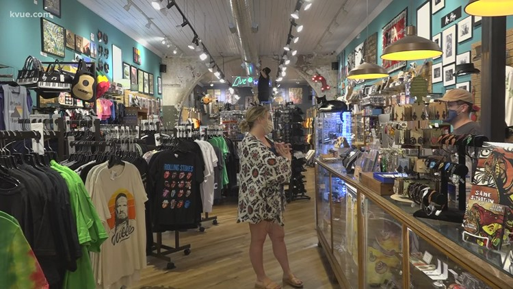Some Downtown Austin shops start returning to normal hours as weekend activity slowly increases