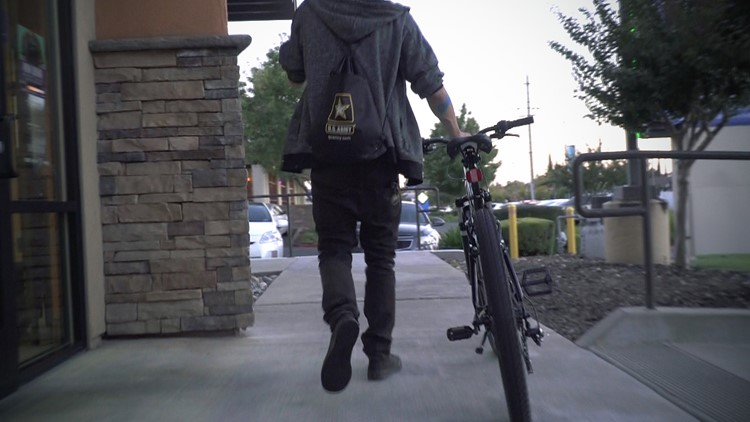 Taco Bell worker had his bike stolen from work. Then a good Samaritan stepped up
