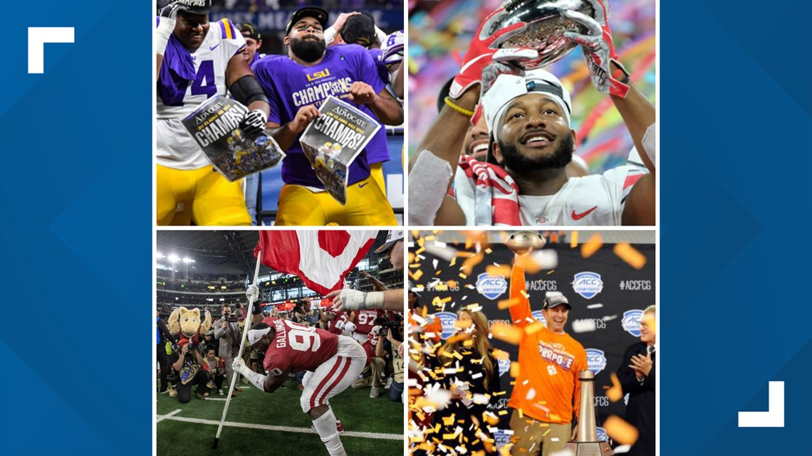 List Of Bowl Games In 2019 2020 Kens5 Com