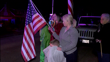 Fit for a Hero: Community gathers to remember Chris Dickerson as his body returns home to Carthage