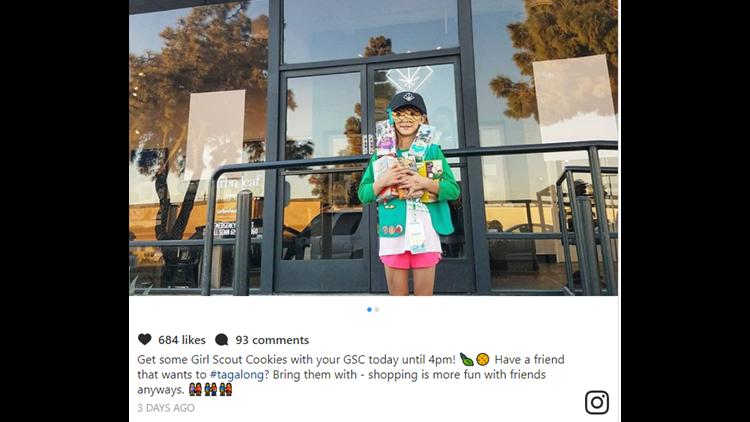 scouts eye whether cookie seller near pot shop broke rules