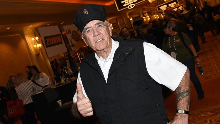 Known for his role as Gunnery Sergeant Hartman, Ermey died from complications of pneumonia.