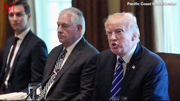 Trump Tweets Tillerson 'Dumb as a Rock' After Reports of His Unflattering Testimony