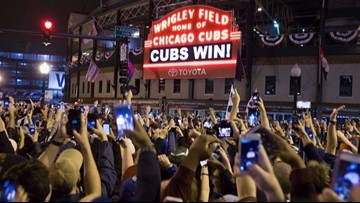 Social media reaction to Chicago Cubs' first World Series title since 1908