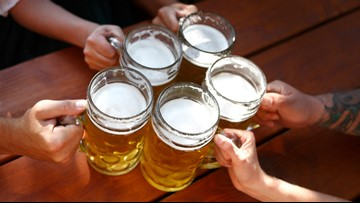What SEC schools plan to serve alcohol now that the ban is lifted?