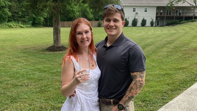 'We were just blissfully happy' | Wife of soldier killed in Kabul describes love for high school sweetheart