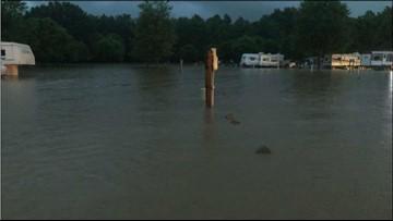 Lake Tahoma dam deemed safe, mandatory evacuations canceled