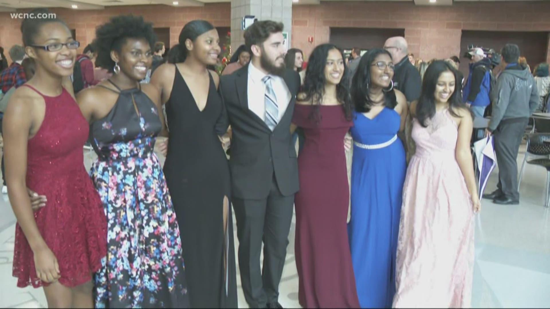 Matthews High School Prom Funded By Belk Kens5 Com