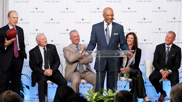 Cowboys 'Original 88' Drew Pearson in the Pro Football Hall of Fame at last