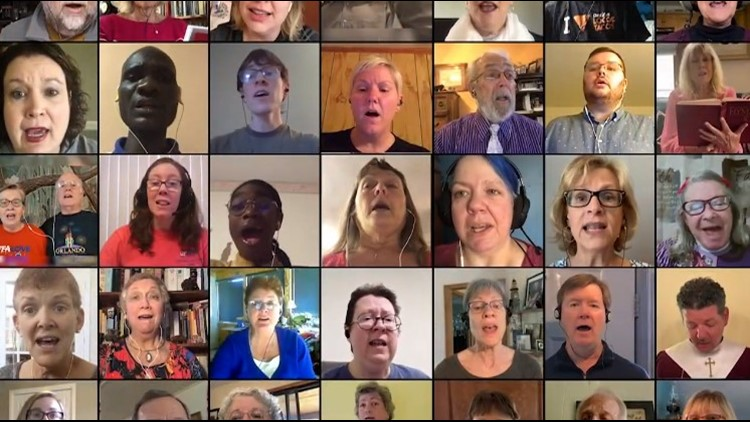 Virtual choir shares music and inspiration for Easter Sunday