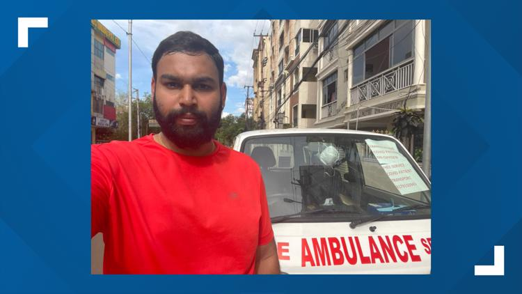 Plano man purchases ambulance to help migrant workers dealing with COVID-19 in rural India
