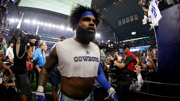 Cowboys make a new offer to running back Ezekiel Elliott but there's no deal yet