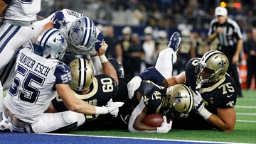 Dominant defense: 8 crazy stats from the Cowboys' upset of the Saints