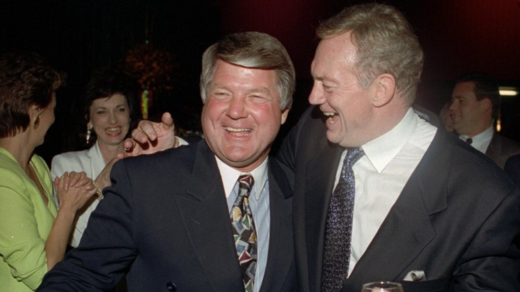 Jerry Jones: Barry Switzer tried to mend fences between Jimmy and Jerry