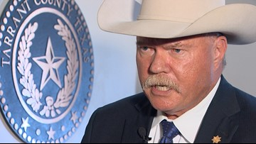 'I didn't say that': Sheriff Waybourn tells his side amid calls for his resignation