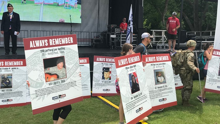 In its ninth year, Carry the Load event raises money for veteran assistance programs, honors the fallen