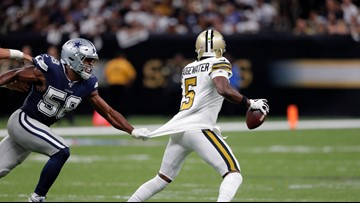 Saints top Cowboys in 12-10 defensive struggle