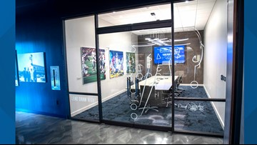 Here's a sneak peek of the Dallas Cowboys' new coworking concept