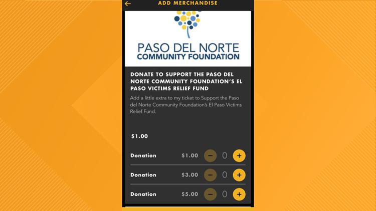 Alamo Drafthouse donation to El Paso