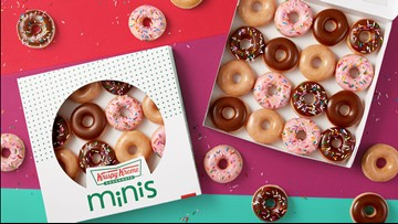 Krispy Kreme is helping you keep your New Year's resolutions with mini doughnuts
