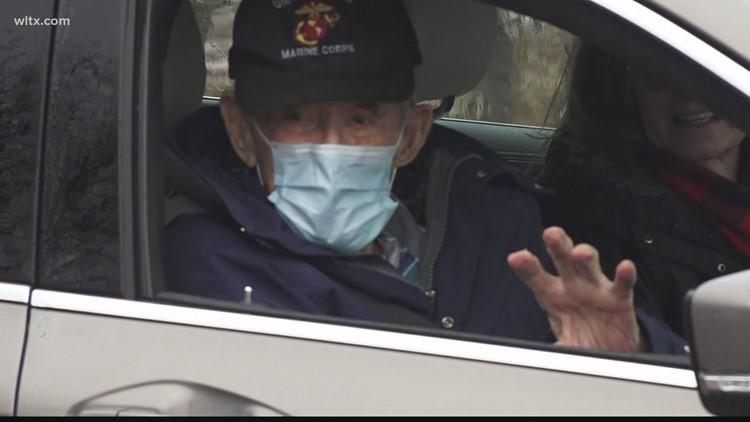 World War II, Korean War and Vietnam War veteran turns 100