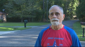 Georgia man completes 43rd 'Labor Day Road Race'