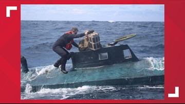 Coast Guard intercepts over 12,000 pounds of cocaine worth $165 million from submarine