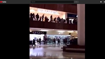 WATCH: Shopping mall starts to flood, band plays Titanic song