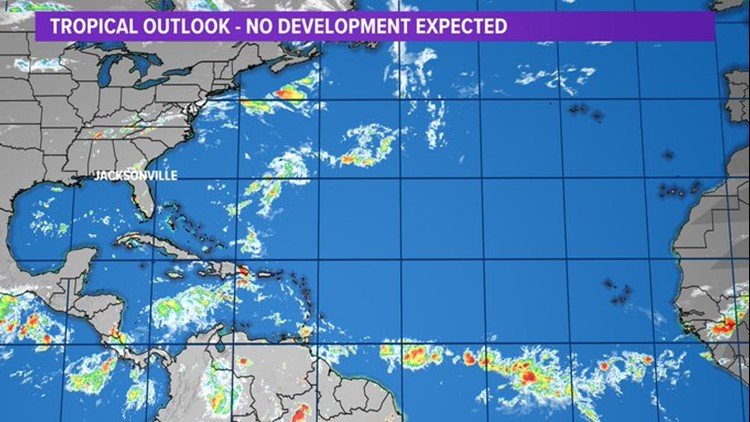 Tropics: No development expected within the next 5 days