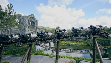 Universal Orlando opens immersive, Hagrid-themed 'story coaster'