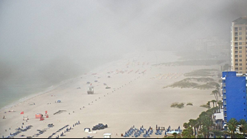 Lightning strike injures 8 people on Florida beach