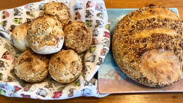 Homemade bread brightens the day of unsuspecting neighbors