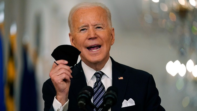 200 million COVID vaccine shots administered in President Biden's first 100 days