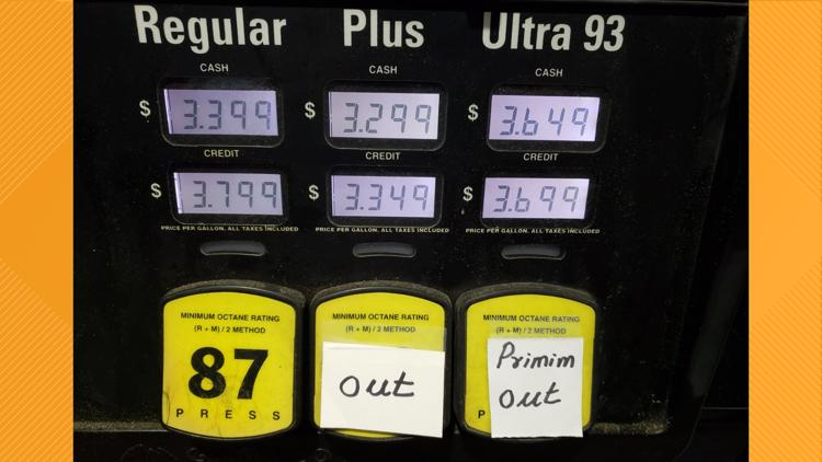 GasBuddy: 55% of DC gas stations are still out of gas