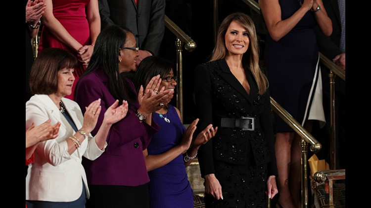 <p>You don't usually see sequins in Congress.</p>
