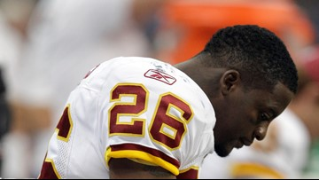 Former Redskins running back Clinton Portis surrenders to federal authorities in NC
