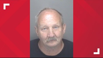 62-year-old man arrested for slashing tires