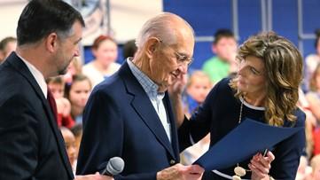 93-year-old veteran receives honorary high school diploma