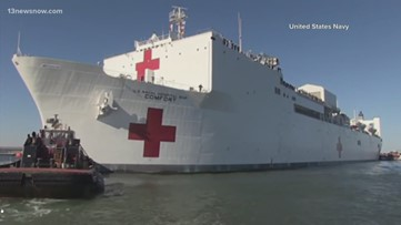 As COVID-19 cases rise, Navy prepare to send USNS Comfort to New York