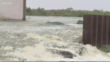 Gap in Plaquemines back levee plugged