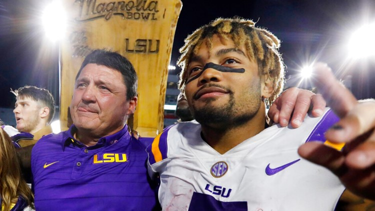 LSU's Ed Orgeron accused of ignoring sexual harassment allegation against Derrius Guice