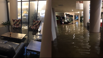 5 from New Orleans stuck in Texas hotel flooded by Imelda
