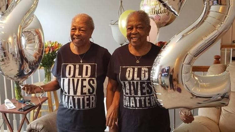 Happy Birthday! Twin sisters celebrate 82nd birthday