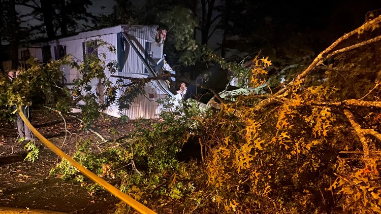 Zeta claims life of Georgia man when tree falls on home in Cherokee County