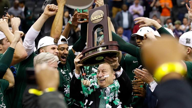 APTOPIX NCAA Michigan St Duke Basketball Tom Izzo